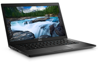 "DELL Latitude 7480 2.8GHz i7-7600U 14"" 2560 x 1440Pixel Touch screen Nero Computer portatile"
