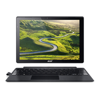 "Acer Switch Alpha 12 SA5-271-32FF 2.3GHz i3-6100U 12"" 2160 x 1440Pixel Touch screen Nero Ibrido (2 in 1)"