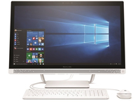 "HP Pavilion 27-a201nf 2.4GHz i5-7400T 27"" 1920 x 1080Pixel Bianco PC All-in-one"
