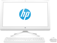 "HP 24-g081d 2.2GHz A8-7410 23.8"" 1920 x 1080Pixel Bianco PC All-in-one"
