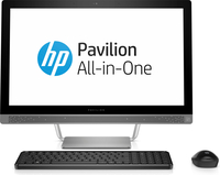 "HP Pavilion 24-a210 2.4GHz i5-7400T 23.8"" 1920 x 1080Pixel Argento PC All-in-one"