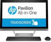 "HP Pavilion 27-a230 2.4GHz i5-7400T 27"" 1920 x 1080Pixel Touch screen Argento PC All-in-one"