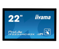 "iiyama ProLite TF2234MC 21.5"" 1920 x 1080Pixel Multi-touch Multi utente Nero monitor touch screen"