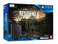 Sony Playstation 4 Slim + Resident Evil 7 1024GB Wi-Fi Nero