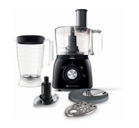 Philips Viva Collection HR7631/91 600W 1.3L Nero, Trasparente robot da cucina