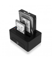 Docking Station USB3.1 HDD/SSD SATA da 2,5 e 3,5 pollici EW7014