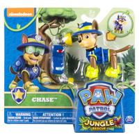 Paw Patrol Basic Vehicle Themed Jungle Chase Multicolore Ragazzo/Ragazza