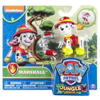 Paw Patrol Basic Vehicle Themed Jungle Marshall Multicolore Ragazzo/Ragazza