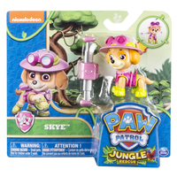 Paw Patrol Basic Vehicle Themed Jungle Skye Multicolore Ragazzo/Ragazza