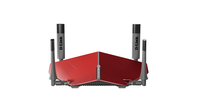 D-Link AC3150 Dual-band (2.4 GHz/5 GHz) Gigabit Ethernet Grigio, Rosso router wireless
