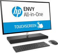 "HP ENVY 27-b153ng 2.4GHz i5-7400T 27"" 2560 x 1440Pixel Touch screen Grigio PC All-in-one"