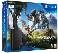 Sony PlayStation 4 Slim 1TB + Horizon Zero Dawn 1000GB Wi-Fi Nero