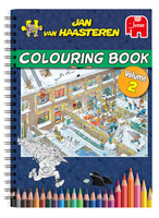 Jan van Haasteren Colouring Book Volume 2 Libro/album da colorare