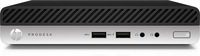 HP ProDesk 400 G3 Mini 2.70GHz i5-7500T PC di dimensione 1L Nero Mini PC