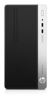 HP ProDesk 400 G4 MT 3.9GHz i3-7100 Microtorre Nero, Argento PC