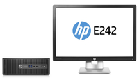 HP ProDesk 400 G3 SFF + EliteDisplay E242 3.2GHz i5-6500 SFF Nero PC