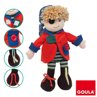 Goula Pirate boy Multicolore bambola