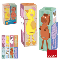 Goula 6 Cubes, Mix & Match XL 6pezzo(i) toy building blocks