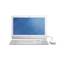 "DELL Inspiron 20 3052 1.6GHz N3150 19.5"" 1600 x 900Pixel Bianco PC All-in-one"