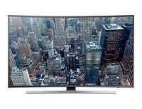 "Samsung UA55JU7500W 55"" 4K Ultra HD Compatibilità 3D Smart TV Wi-Fi Nero, Metallico LED TV"