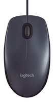 MOUSE USB M100 DARK GRAY