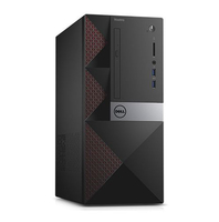 DELL Vostro 3667 3.7GHz i3-6100 Mini Tower Nero PC