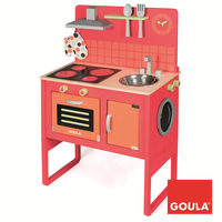 Goula Kitchen & Washing Machine Cucina e cibo Set da gioco