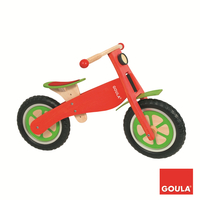 Goula Wooden Bike Spinta Bicicletta