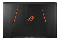 """ASUS ROG GL753VD-GC011T 2.8GHz i7-7700HQ 17.3"""" 1920 x 1080Pixels Zwart Notebook"""