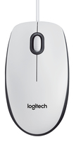 MOUSE USB M100 WHITE