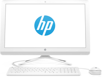 "HP 24-g015ns 2.3GHz i3-6100U 23.8"" 1920 x 1080Pixel Bianco PC All-in-one"