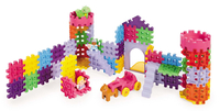 Little Tikes Waffle Blocks Castle 80pezzo(i) toy building blocks