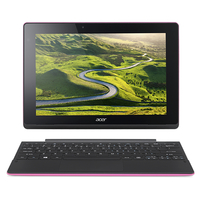 "Acer Aspire Switch 10 E SW3-016-18D2 1.44GHz x5-Z8300 10.1"" 1280 x 800Pixel Touch screen Nero, Rosa Ibrido (2 in 1)"