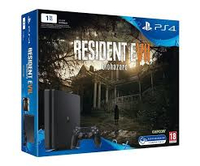 Sony Playstation 4 + Resident Evil 7 1000GB Wi-Fi Nero