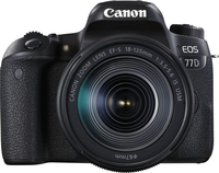 Canon EOS 77D + EF-S 18-135mm 3.5-5.6 IS USM Kit fotocamere SLR 24.2MP CMOS 6000 x 4000Pixel Nero