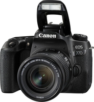 Canon EOS 77D + 18-55mm F4.0-5.6 IS STM Kit fotocamere SLR 24.2MP CMOS 6000 x 4000Pixel Nero