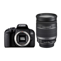 Canon EOS 800D + EF-S 18-200mm F3.5-5.6 IS Kit fotocamere SLR 24.2MP CMOS 6000 x 4000Pixel Nero