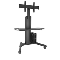 "DELL A7426661 71"" Portable flat panel floor stand Nero base da pavimento per tv a schermo piatto"