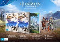 Sony Horizon Zero Dawn Limited Edition, PS4 Limited PlayStation 4 Inglese videogioco