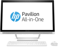 "HP Pavilion 27-a252kr 2.4GHz i5-7400T 27"" 1920 x 1080Pixel Touch screen Bianco PC All-in-one"