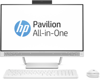 "HP Pavilion 24-a250kr 2.4GHz i5-7400T 23.8"" 1920 x 1080Pixel Bianco PC All-in-one"