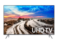 "Samsung UN75MU8000F 74.5"" 4K Ultra HD Smart TV Wi-Fi Nero, Grigio LED TV"