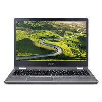"Acer Aspire R 15 R5-571T-56LP 2.50GHz i5-7200U 15.6"" 1920 x 1080Pixel Touch screen Argento Ibrido (2 in 1)"