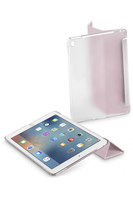 Cellularline Clear View - iPad Pro 9.7 Custodia ultra sottile e funzionale con dual stand Rosa
