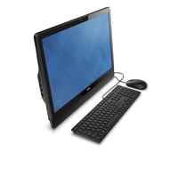 "DELL Inspiron 3464 2.40GHz i3-7100U 23.8"" 1920 x 1080Pixel Touch screen Nero PC All-in-one"