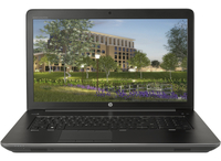 "HP ZBook 17 G4 2.8GHz i7-7700HQ 17.3"" 1920 x 1080Pixel Nero Workstation mobile"