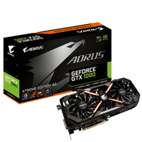 Gigabyte AORUS GeForce GTX 1080 Xtreme Edition GeForce GTX 1080 8GB GDDR5X