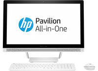 "HP Pavilion 24-b240nd 2.8GHz 23.8"" 1920 x 1080Pixel Bianco PC All-in-one"