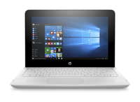 "HP x360 11-ab011nd 1.6GHz N3060 11.6"" 1366 x 768Pixel Touch screen Bianco Computer portatile"