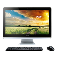 "Acer Aspire ZC-700 1.6GHz N3150 19.5"" 1920 x 1080Pixel Nero, Argento PC All-in-one"